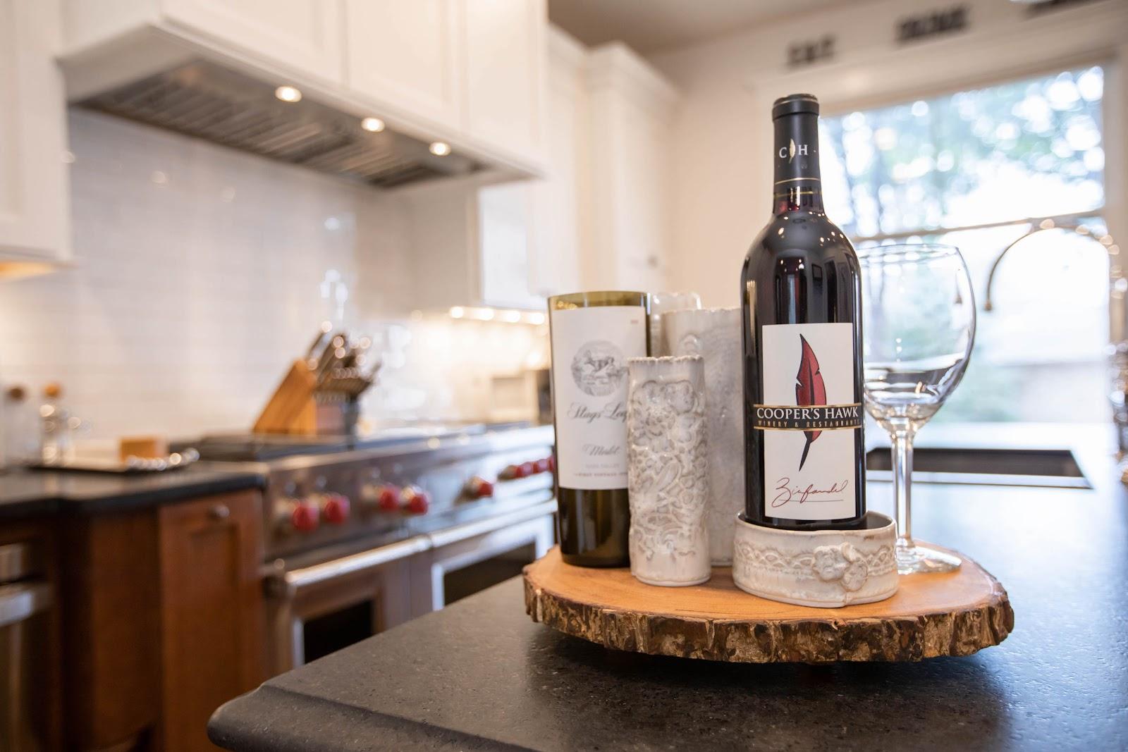 wine and kitchen