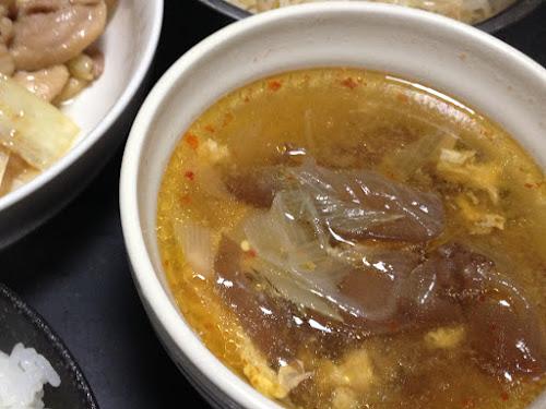 きくらげ スープ