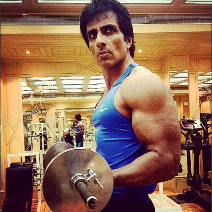 Bollywood Actors Workout Pictures | Sonu Sood