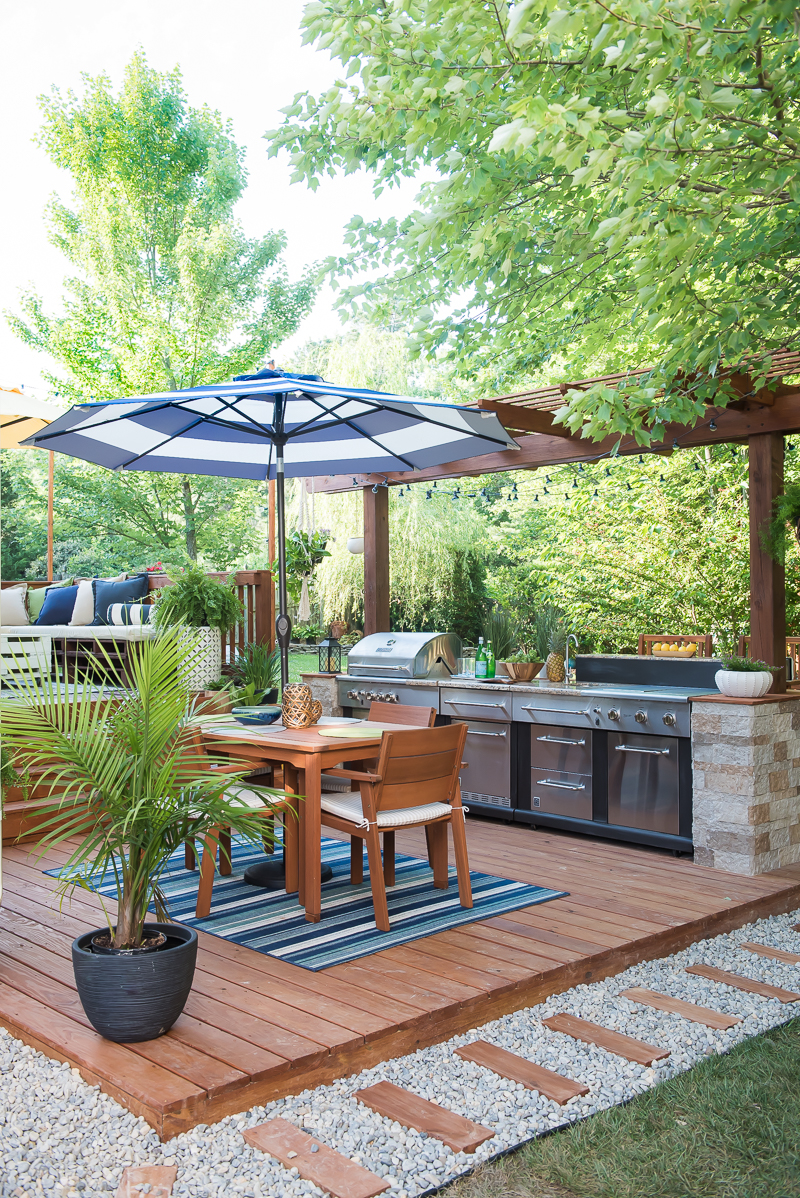 Outdoor Kitchens are a Must-Have: These features for The Ultimate Outdoor Patio will add some flare to your outdoor space and save you money.