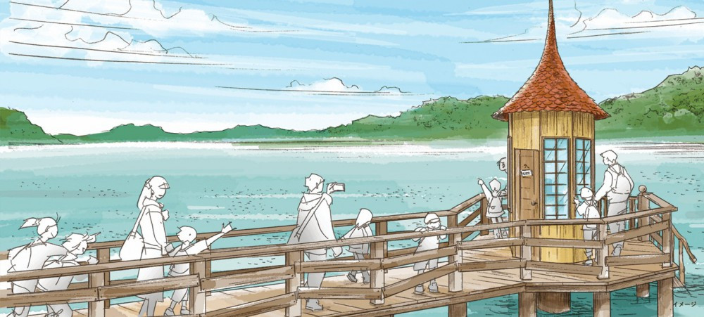 日本, 姆明, 打卡, 姆明主題樂園