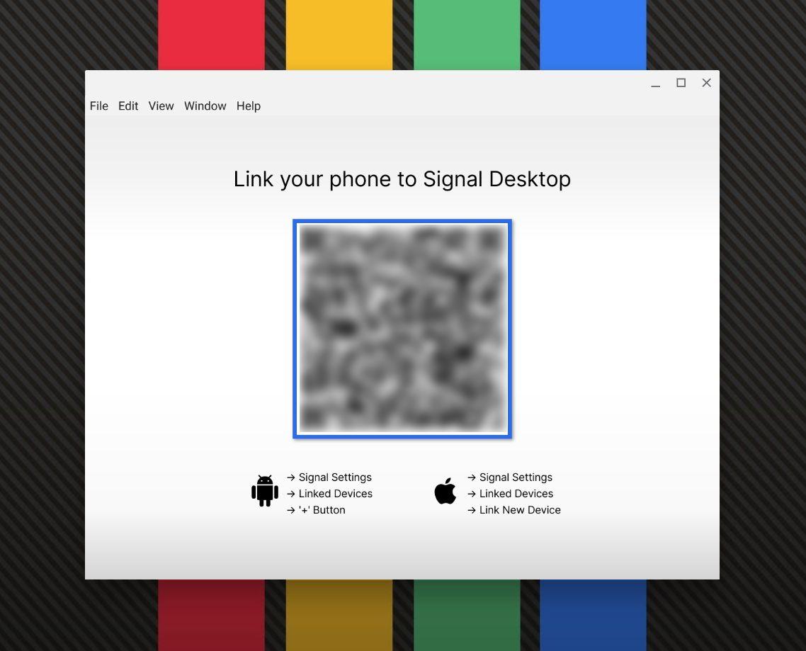 Comment utiliser Signal sur chromebook