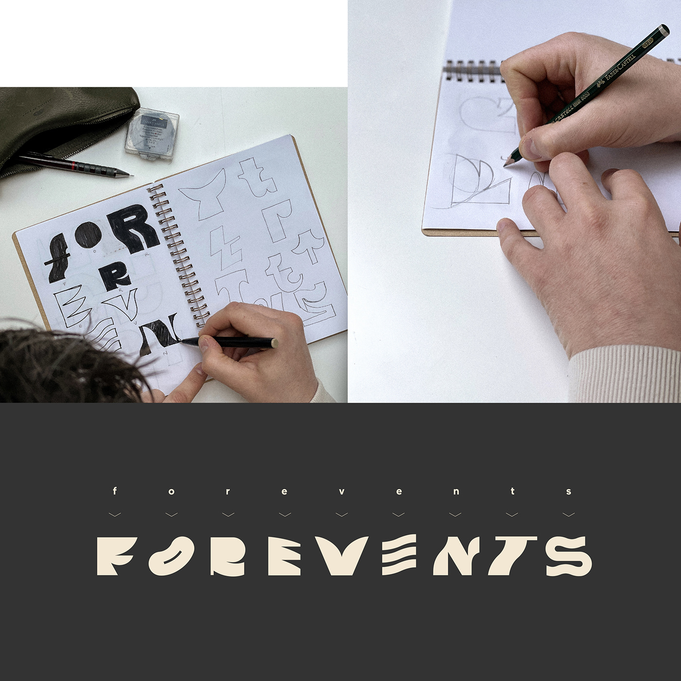 alphabet art direction  Brand Design brand identity branding  creative graphic design  identity typography   visual identity