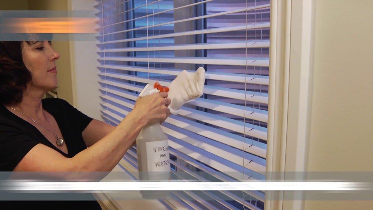 3 Ways To Clean Window Blinds   Home Hacks - YouTube