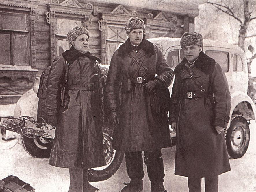 Фото Рокоссовского и Малинина