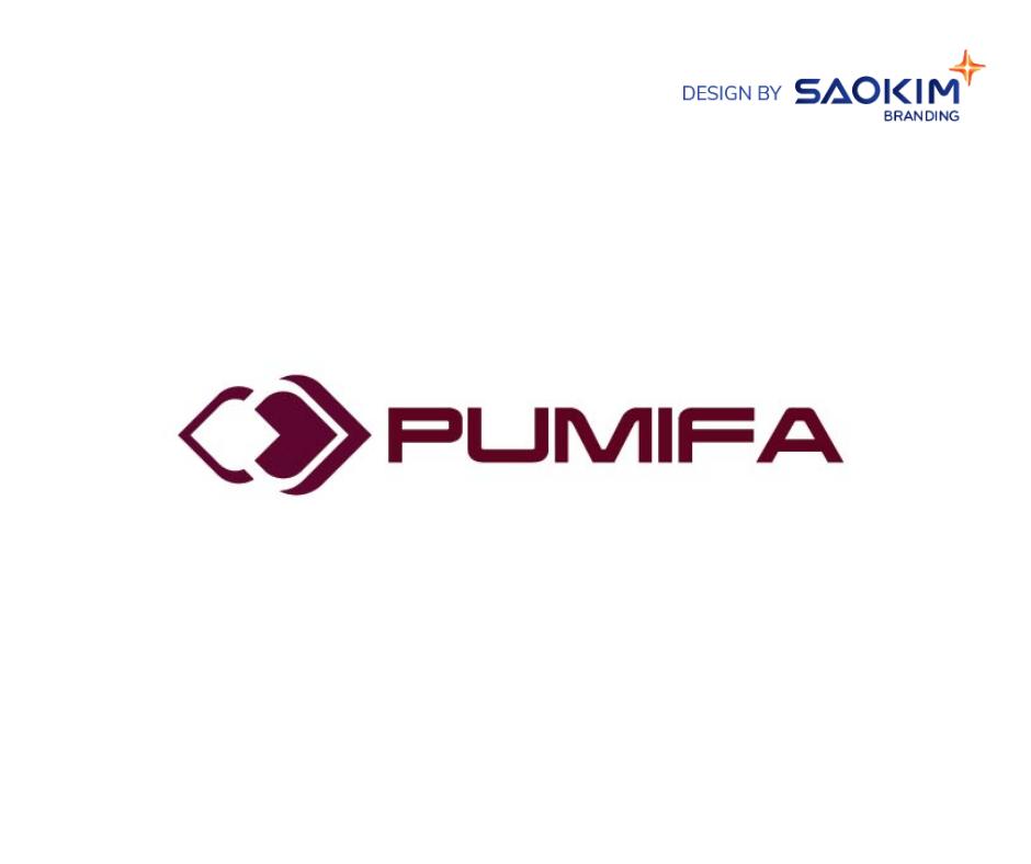 [Saokim.com.vn] Logo thương hiệu dược phẩm Pumifa thiết kế bởi Sao Kim Branding