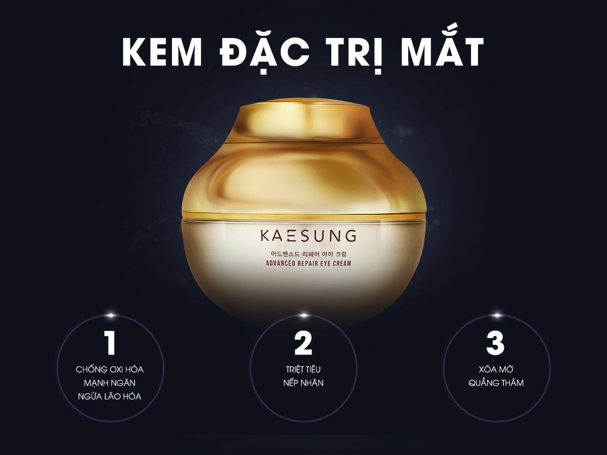 Công dụng chính của Kem Đặc Trị Mắt Kaesung LoveSkin