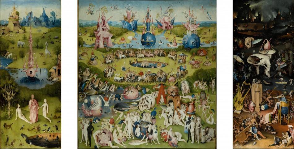 Ο κήπος των Γήινων Απολαύσεων, 148-1505