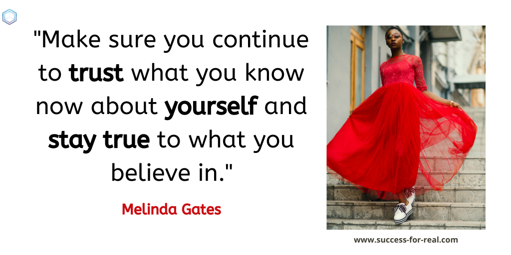 365 Success Quotes For Motivation - Picture Quote By Melinda Gates