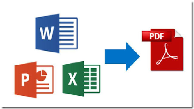 Convert your word excel powerpoint jpeg into pdf file