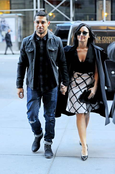 Demi Lovato And Wilmer Valderrama