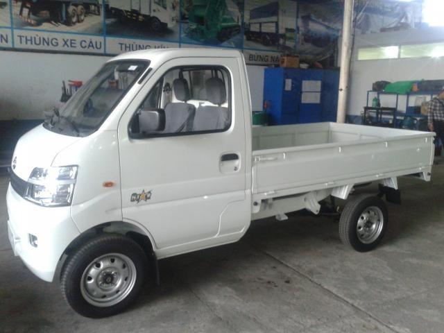 Đại lý bán xe tải veam dưới 1 tấn - xe tải veam star 860kg thùng lửng - veam 860kg thùng bạt