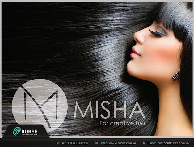 Logo thương hiệu Misha sản phẩm cho tóc 5 đẹp