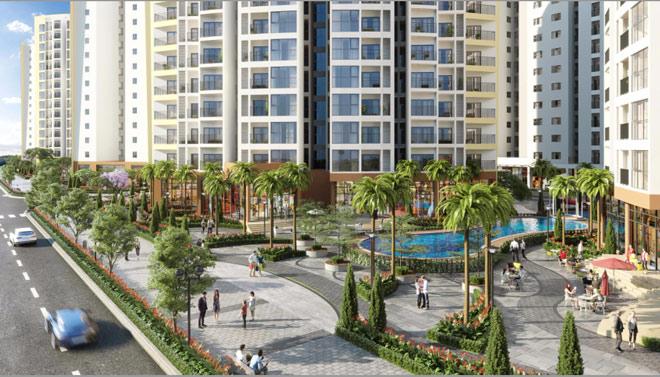 Dự án căn hộ chung cư Le Grand Jardin