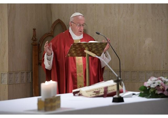 Pope Francis: Mass at Santa Marta, Oct 17, 2017