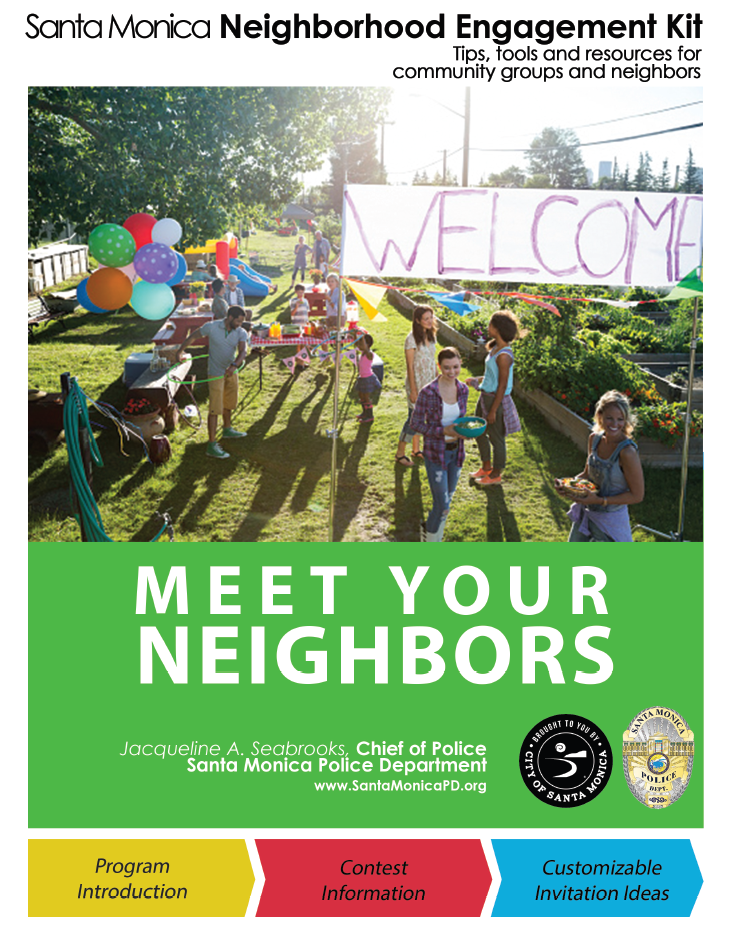 The Neighborhood Engagement Kit download will be sent via email after registration.