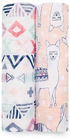 Baby Swaddle--Aden + Anais Muslin Swaddle Blanket