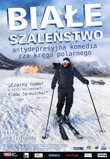 Polski plakat filmu 'Białe Szaleństwo'