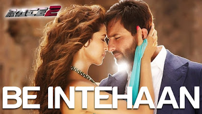 Race 2 be intehaan songs pk