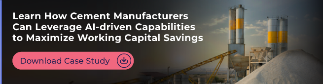 Learn how cement manufacturers can leverage AI-driven capabilities to maximize working capital savings across their supply chain. Download a free case study now.