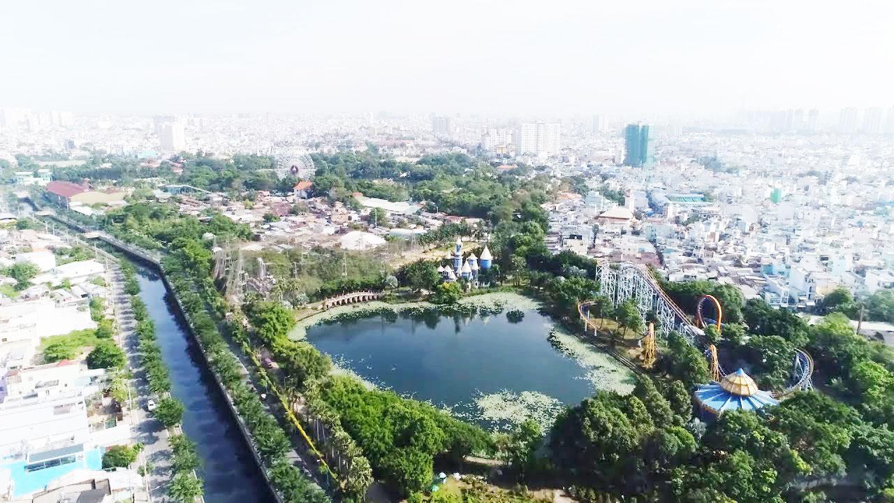 Khu vực quận Tân Phú