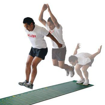 Description: Standing long jump (With images) | Long jump, Challenges, Toughest ...