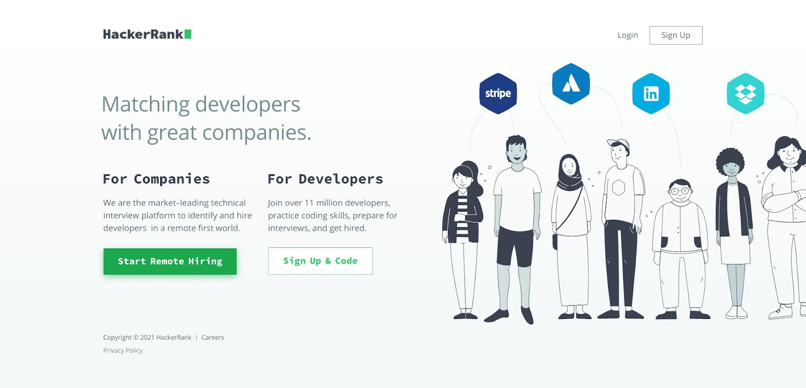 hackerrank vs leetcode vs toggl hire - hackerrank