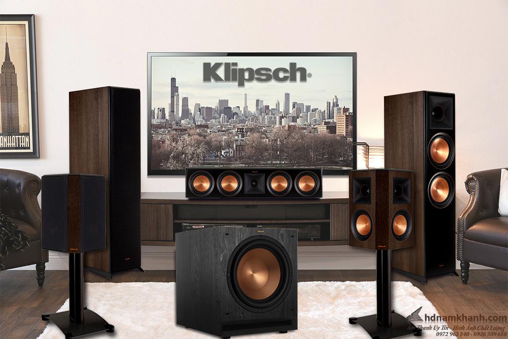 Bộ loa 5.1 Klipsch 5000F, 6000F, 8000F, 820F, 620F giá tốt, lựa chọn tuyệt vời cho phòng giải trí ch - 262955