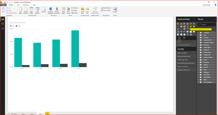Dual Axis Chart in Microsoft Power BI - Step By Step 32