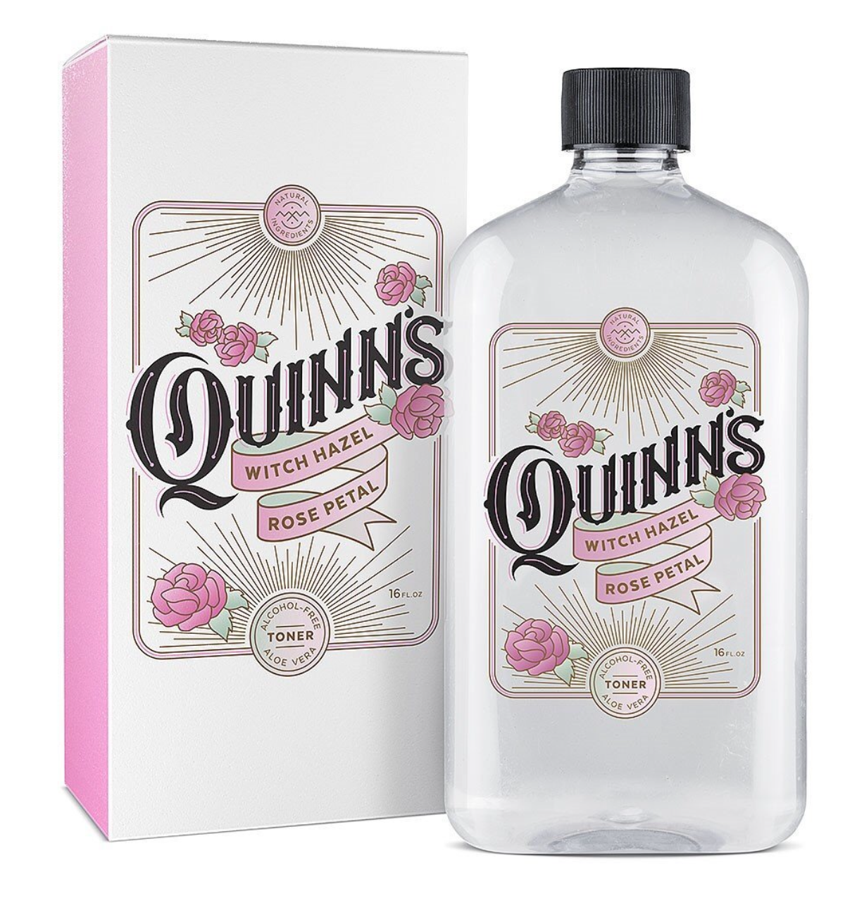 Unnecessarily Fancy Quinn's Rosewater Witch Hazel