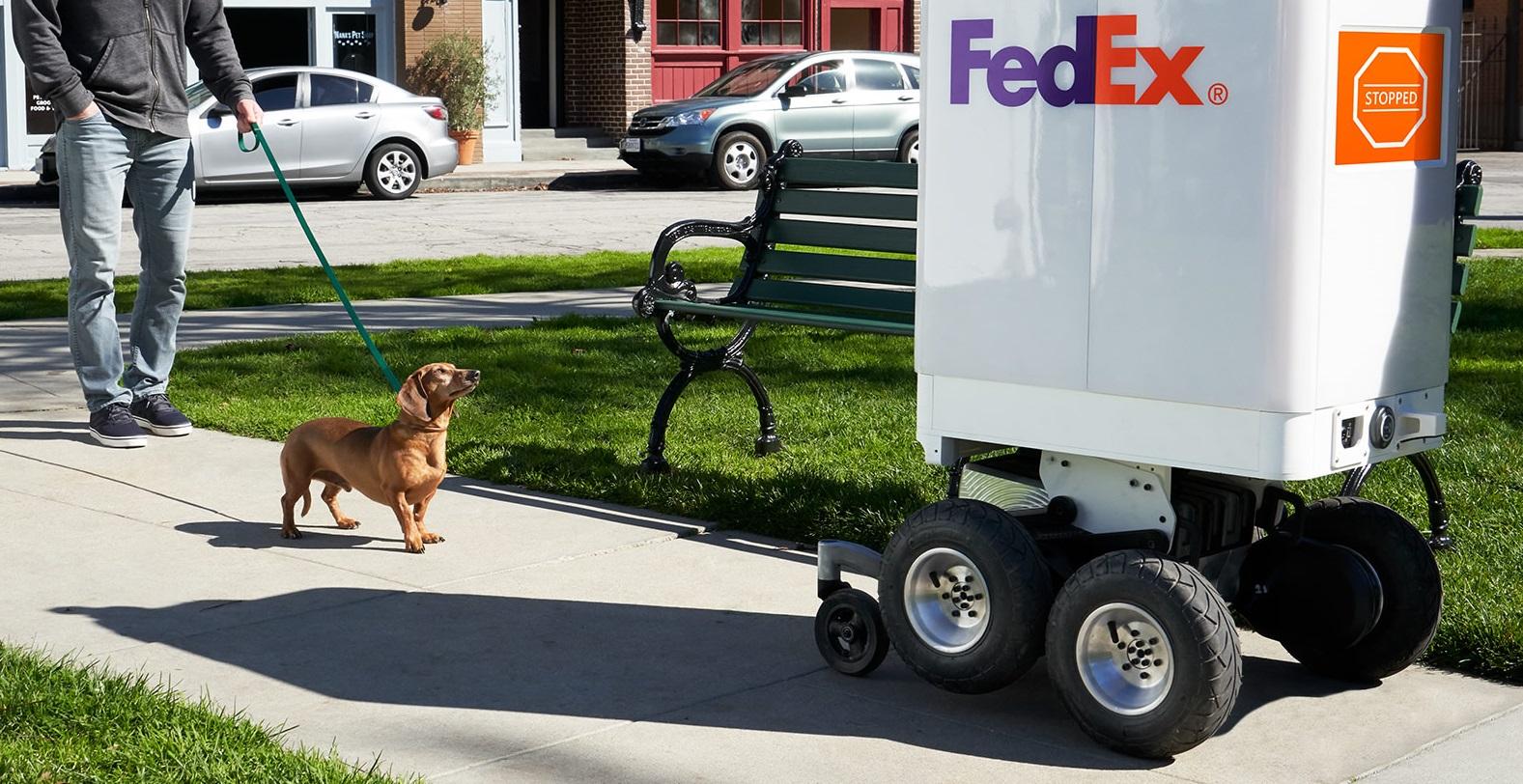 Roxos, da FedEx