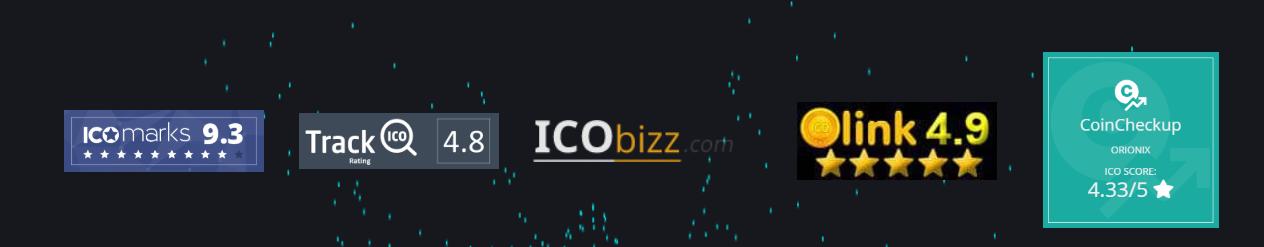 Платформа ORIONIX: честный обзор ICO, отзывы пользователей