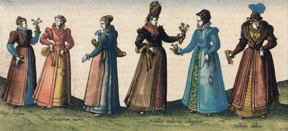 victorian era painting of women with corsets showing how body image has changed over time