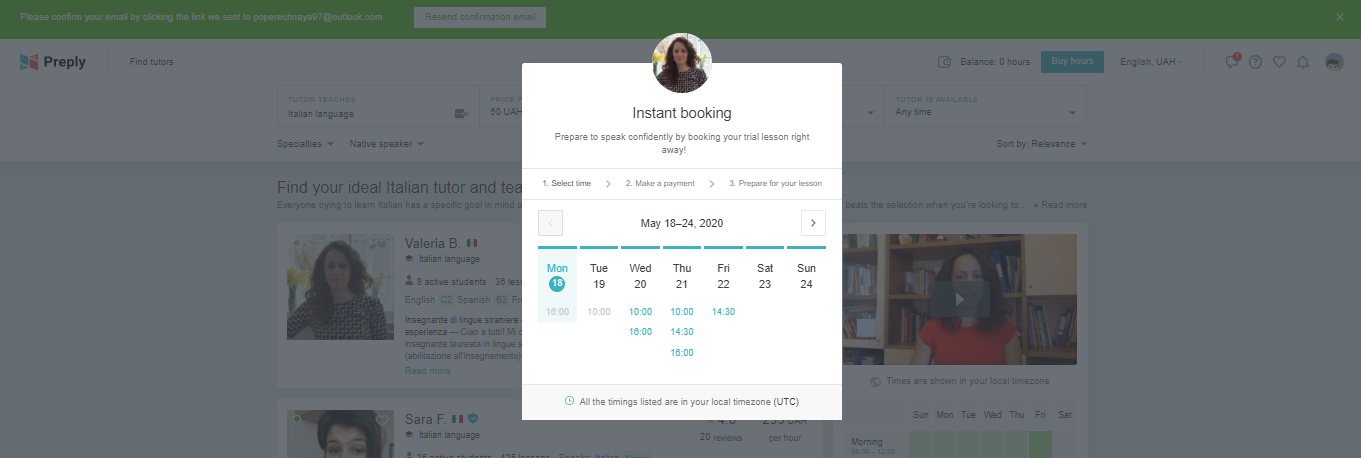 10 Core Features for Every Online Learning Platform - booking