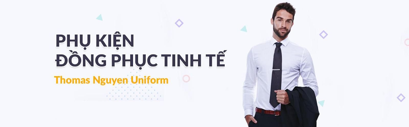 Phụ kiện đồng phục nam tinh tế tại Thomas Nguyen