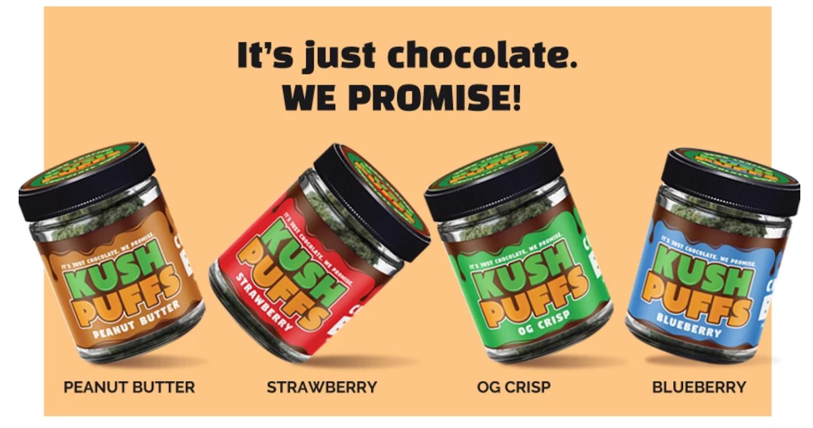 It's Just Chocolate - Kush Puffs