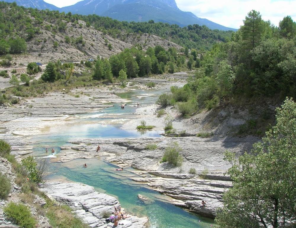 Piscinas naturales del Río Bellós, Huesca
