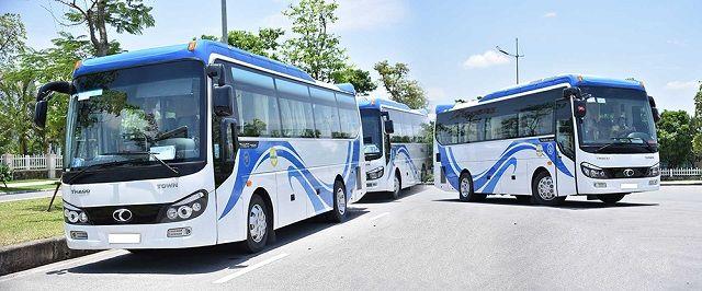 Các mẫu xe đang cho thuê xe 29 chỗ ngồi tại TPHCM