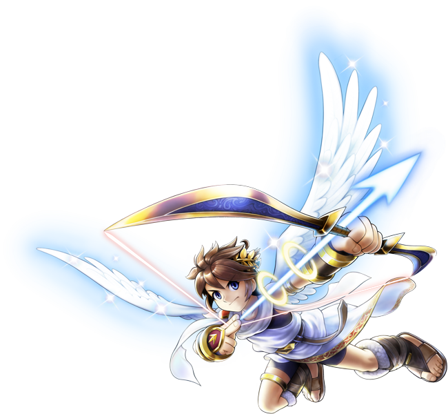 Pits Most Iconic Weapon Given To Him By Lady Palutena Herself When He Set Off Fight Medusa For The First Time If You Need Further Clarification