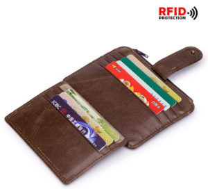 RFID peněženka z AliExpress