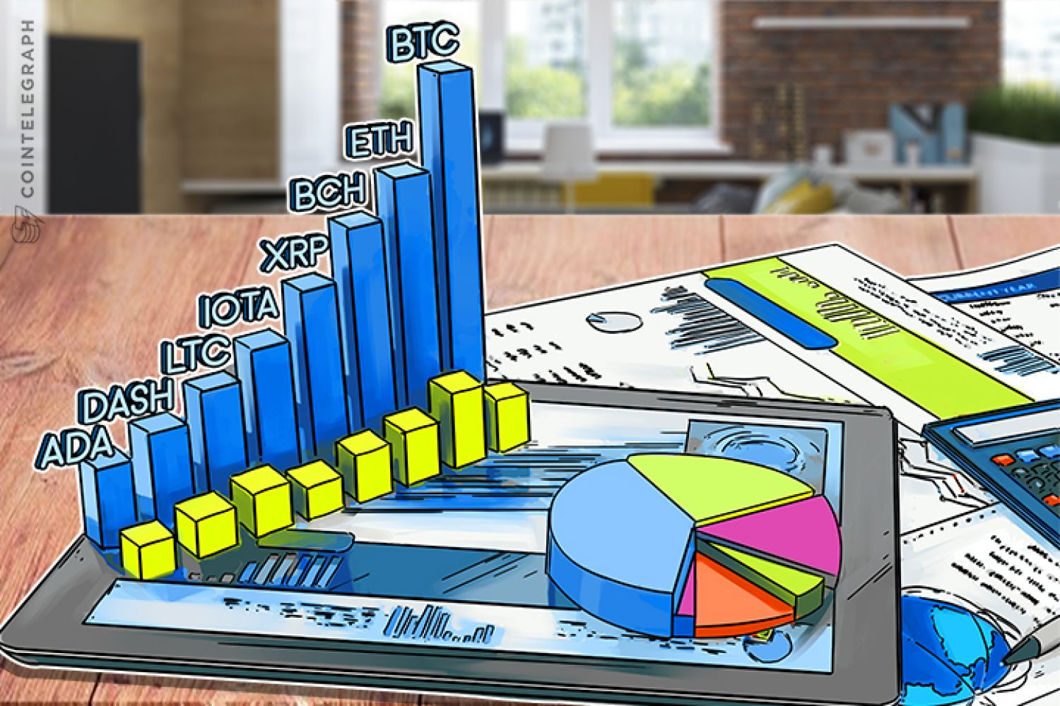 Crypto price analysis charts