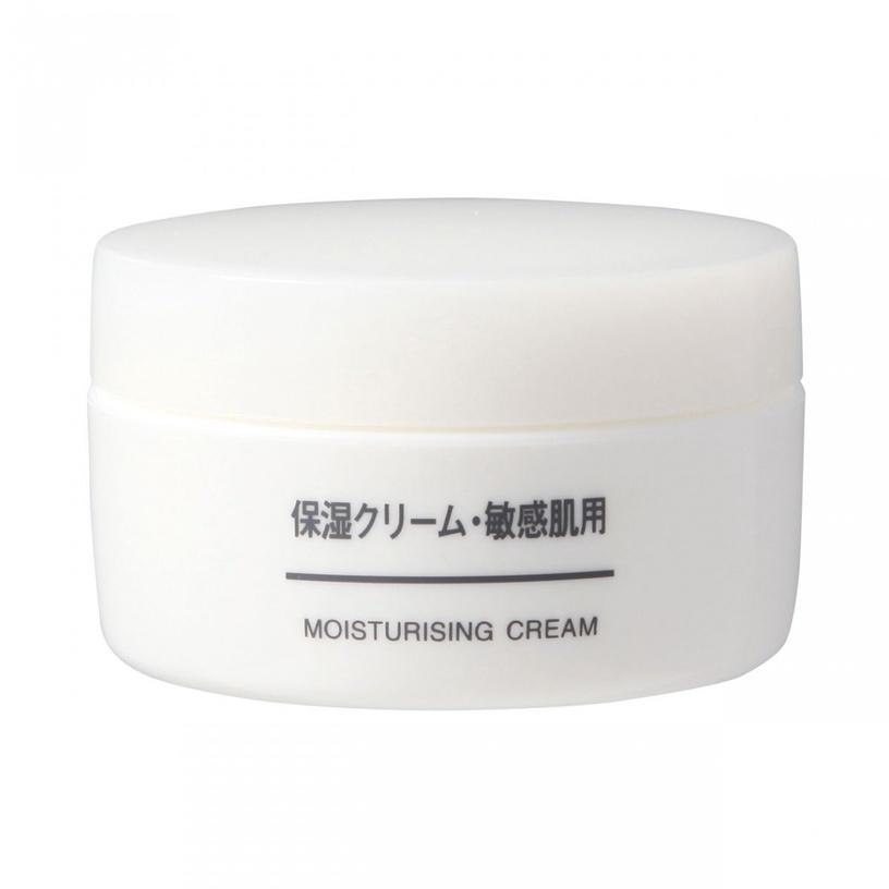無印良品CP值超高保養品推薦2:敏感肌保濕乳霜/售價:$360元