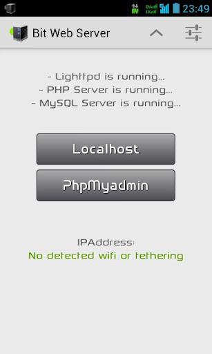 Get Bit Web Server (PHP,MySQL,PMA) apk Free | DL Apk 19S