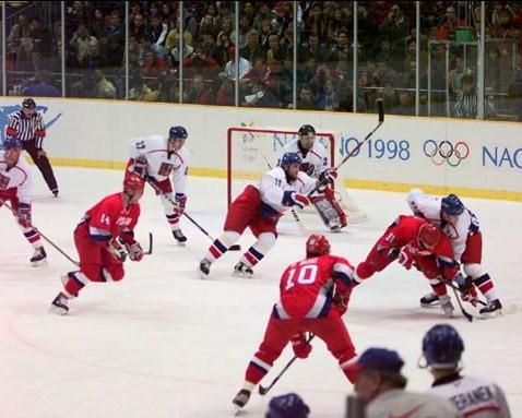 ... medal game between Russia ...