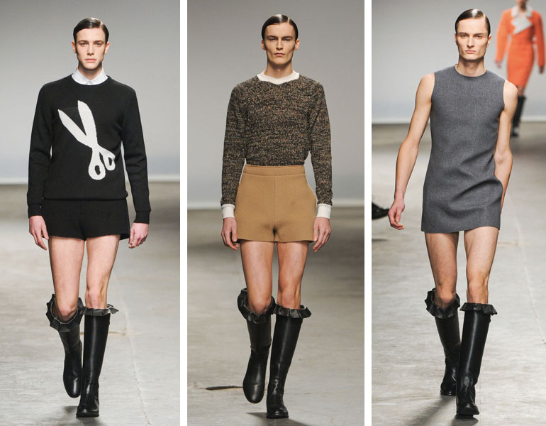 090759b92 O que Anderson quis com esse desfile não foi dizer que a partir de hoje  homens deverão usar roupas femininas, mas que deve haver alguém que abra  essa ...