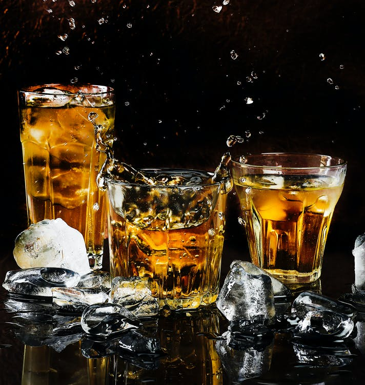 Three Cocktail Drinks