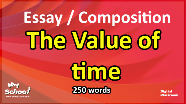 The value of time-Essay