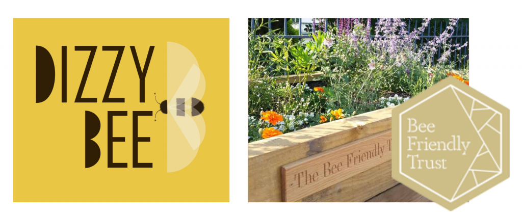 dizzy bee kitchen and the bee friendly trust - world bee day