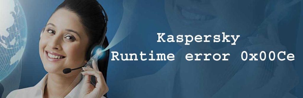 Runtime Error 0x00Ce in Kaspersky