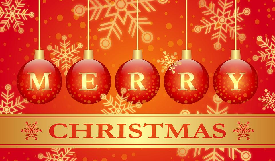 Merry, Christmas, Holiday,